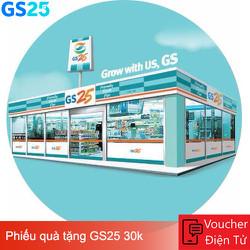 Evoucher - Phiếu quà tặng GS25 30k