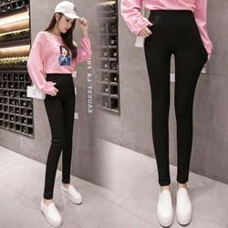 Quần Legging Trơn Hàn Quốc size 38-70kg Chất Cottong