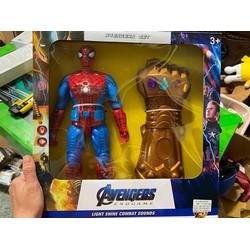 [ Đồ chơi ] Siêu nhân nhện và bàn tay