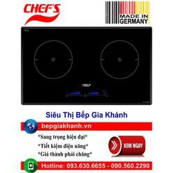 Bếp từ đôi Chefs EH DIH888P nhập khẩu Đức