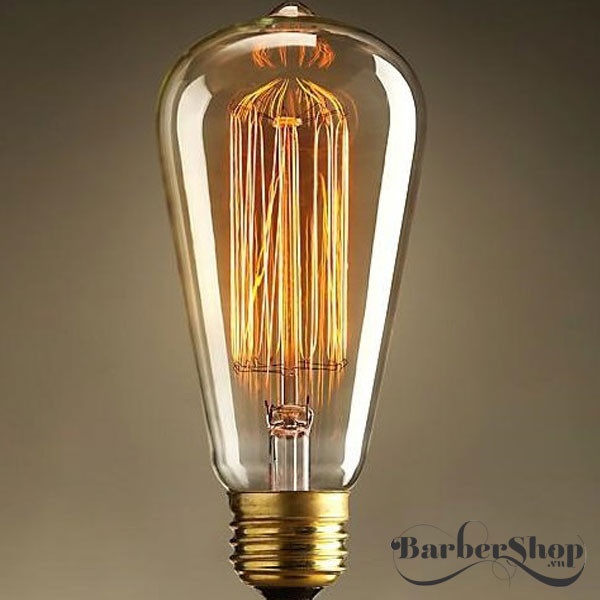 Bóng đèn edison sợi tóc ST64 40W