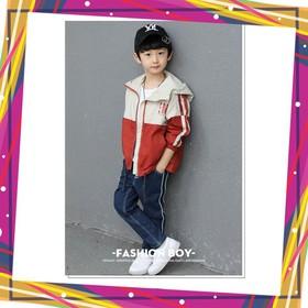 áo khoác cho bé , áo khoác dù trẻ em UNISEX từ 5 đến 14 tuổi M852 - m852