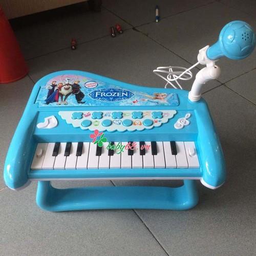 Đàn piano cho bé kèm mic frozen