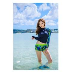 Đồ bơi nữ tay dài chống nắng M1924