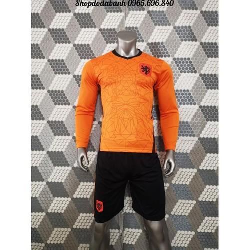 Áo đội tuyển hà lan - áo đội tuyển hà lan 2020 màu cam mới nhất tay dài