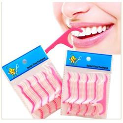 Combo 4 gói tăm xỉa răng chỉ nha khoa