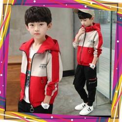 áo khoác cho bé unisex 5 đến 14 tuổi M875