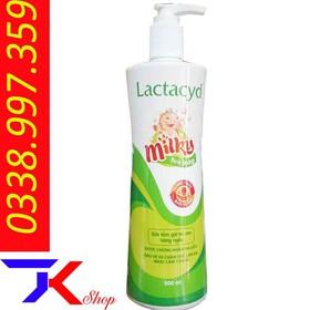 Sữa Tắm Gội Trẻ Em Lactacyd Milky For baby Chai 500ml, 250ml - kt143