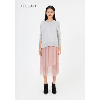 De Leah - Chân Váy Xoè Dập Li - Thời trang thiết kế - Z1702031H thumbnail