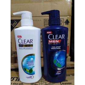 Dầu gội Clear bạc hà Thái Lan - Clear
