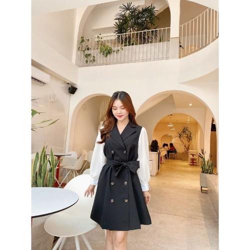 [Đầm thiết kế] đầm cotton vest phối tay trắng có dây cột eo - 19979372 , 25170395 , 15_25170395 , 285000 , Dam-thiet-ke-dam-cotton-vest-phoi-tay-trang-co-day-cot-eo-15_25170395 , sendo.vn , [Đầm thiết kế] đầm cotton vest phối tay trắng có dây cột eo