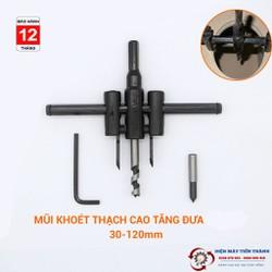 Mũi Khoan Khoét lỗ 30 - 120mm
