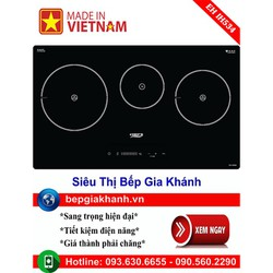 Bếp từ Chefs EH IH534 lắp ráp Việt Nam