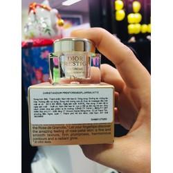 Kem Dior. Dưỡng Ẩm Tái Tạo Trẻ Hóa Prestige La Cremè 5ml tem phụ tiếng việt hàng chính hãng