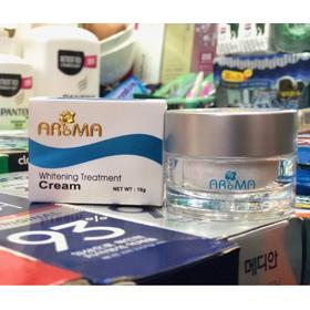 KEM DƯỠNG TRẮNG DA - AROMA WHITENING TREATMENT CREAM 18G - ARM02
