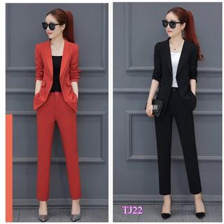 Set nguyên bộ áo Vest quần dài TJ22 - TJ22 thumbnail