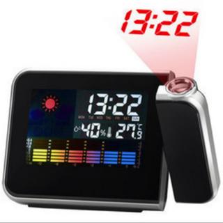 MÀN HÌNH LCD Kỹ Thuật Số LED Chiếu Đồng Hồ Báo Thức Trạm Thời Tiết Lịch Báo Lại-quốc tế 206749 - 206749 thumbnail