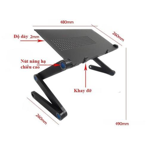 Bàn kê laptop t8 xoay 360 độ - 19988456 , 25180875 , 15_25180875 , 417000 , Ban-ke-laptop-t8-xoay-360-do-15_25180875 , sendo.vn , Bàn kê laptop t8 xoay 360 độ