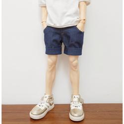 Quần thời trang cho búp bê nam 60cm- quần ngố bò