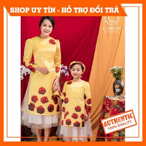[Hàng thiết kế] áo dài đôi mẹ và bé, áo dài tết mẹ con, áo dài cách tân bé gái, áo dài đẹp cdress - 19990939 , 25183788 , 15_25183788 , 350000 , Hang-thiet-ke-ao-dai-doi-me-va-be-ao-dai-tet-me-con-ao-dai-cach-tan-be-gai-ao-dai-dep-cdress-15_25183788 , sendo.vn , [Hàng thiết kế] áo dài đôi mẹ và bé, áo dài tết mẹ con, áo dài cách tân bé gái, áo dài