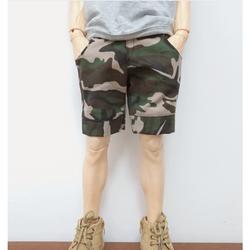 Quần thời trang cho búp bê nam 60cm- quần ngố rằn ri