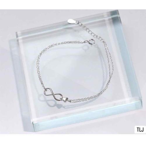 Lắc tay bạc nữ bạc italy cao cấp 925