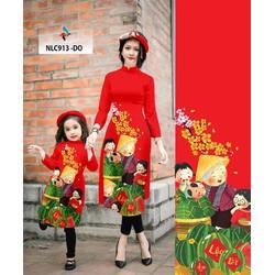 Áo dài nữ tết đoàn viên vải gấm hoặc lụa tơ 40 _74 kg  M, L, XL, 2XL thiết kế cao cấp