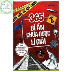Cuốn sách 365 Bí Ẩn Chưa Được Lí Giải