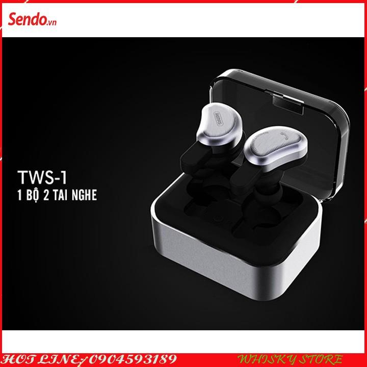 Tai nghe Bluetooth - Tai nghe Bluetooth chính hãng - Tai nghe Bluetooth TWS-1 11