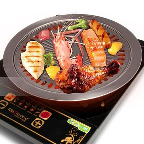 Vỉ nướng inox dùng cho bếp từ, bếp gas, bếp hồng ngoại