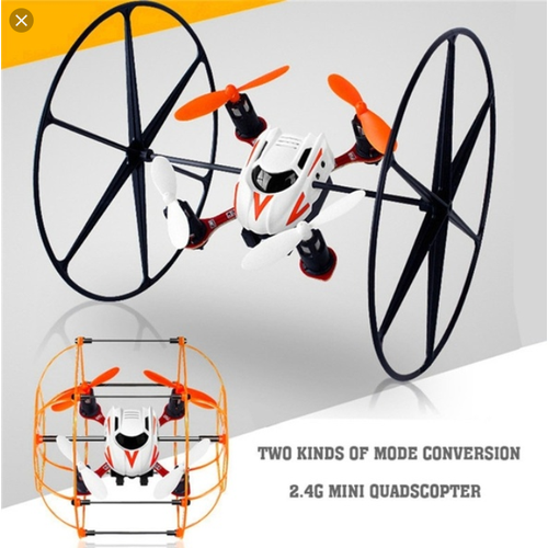 Máy bay điều khiển từ xa leo tường – Máy bay đa năng