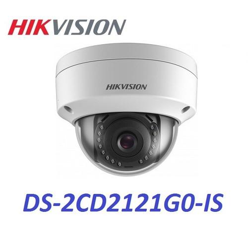 Camera ip dome hồng ngoại 2.0 megapixel hikvision ds-2cd2121g0-is. chính hãng.