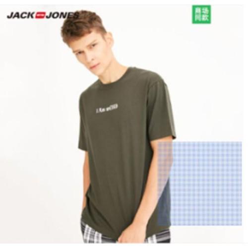 Áo thun nam cổ tròn thời trang hiệu jack jones