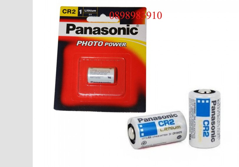 CR2 - Pin CR2 3v Lithium PANASONIC vỉ 1 viên