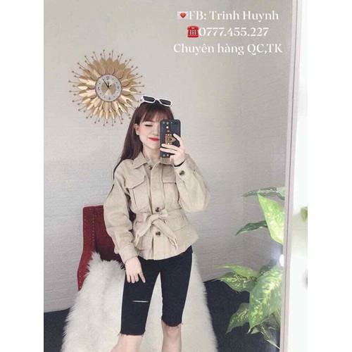 Áo khoác quốc dân - lên phom lên dáng cực xinh - có thể mặc được nhiều kiểu