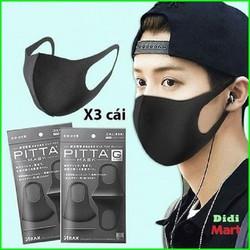 Khẩu trang y tế - Pitta mask - Kháng khuẩn và lọc bụi mịn - Khẩu trang