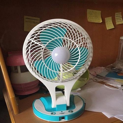 Quạt tích điện 5580 mini fan 2 in 1 gấp gọn - 20007297 , 25202970 , 15_25202970 , 400000 , Quat-tich-dien-5580-mini-fan-2-in-1-gap-gon-15_25202970 , sendo.vn , Quạt tích điện 5580 mini fan 2 in 1 gấp gọn