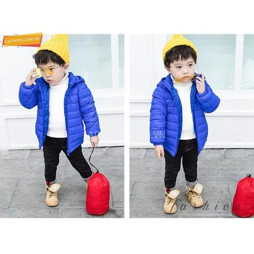 Áo khoác phao siêu nhẹ cho bé ,chất đẹp giá rẻ