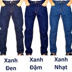 Quần jeans ống suông nam TMD3