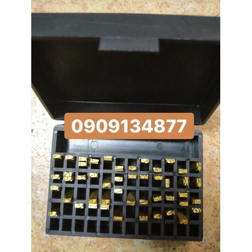 Hộp số máy dập date bán tự động hp241b, hp23, hộp số máy in hạn sử dụng loại 3mm, 4mm, hộp số máy đóng date