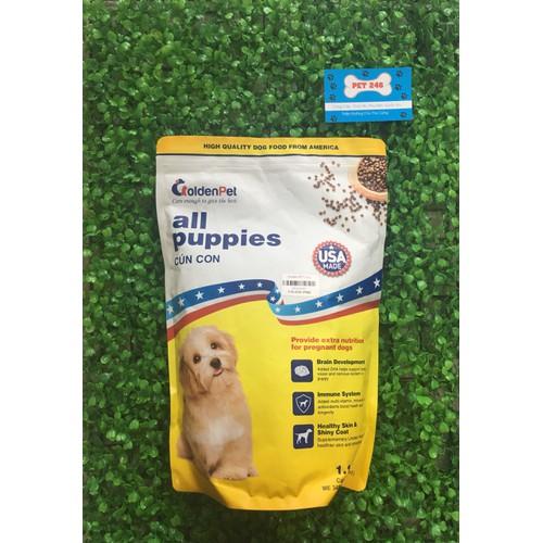 Thức ăn hạt khô dành cho chó con golden pet gói 1,1kg