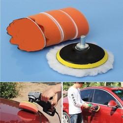 Bộ dụng cụ máy đánh bóng xe ô tô mini