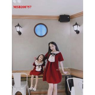 [hổ trợ phí ship- dc kiểm hàng] Đầm mẹ và bé - 2201532 1