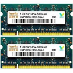 Ram Laptop DDR2 1G bus 667 800 nhiều hiệu, hàng zin giá tốt