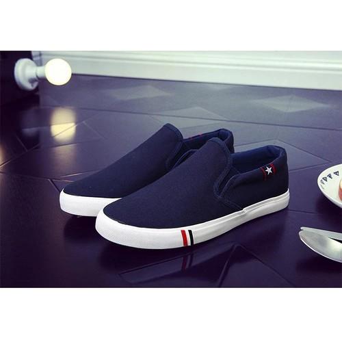 Giày casual cho nam nữ xuân thu giày vải nam