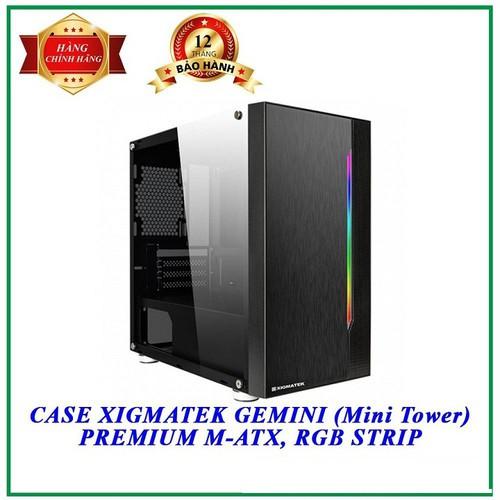 Vỏ case máy tính xigmatek gemini - en41654 - hàng chính hãng