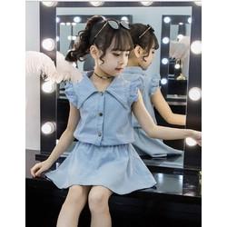 váy dễ thương cho bé gái