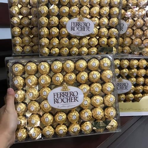 Kẹo socola ferrero rocher 48 viên mỹ, nhân hạt dẻ ngon tuyệt