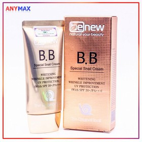 Kem nền BB Chống nắng Dưỡng Trắng Benew Cream 50ml - Kem nền BB BENEW