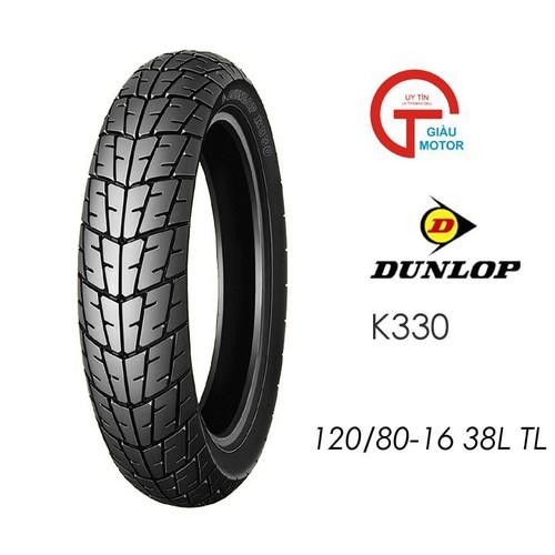 Lốp dunlop 120.80-16 k330 tl 38l vỏ xe máy dunlop size 120-80-16 k330 tl 38l